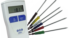 Colour-coded temperature checks