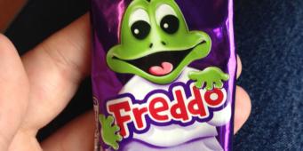 Take a hike, Freddo