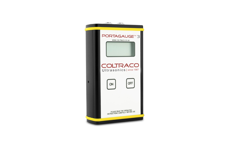 Easy corrosion and metal thickness testing thanks to Coltraco's updated Portagauge thickness gauges