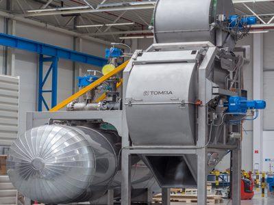 Tomra ships world's largest steam peeler