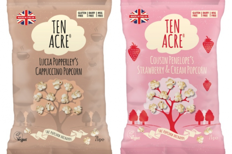 Two new popcorn flavours