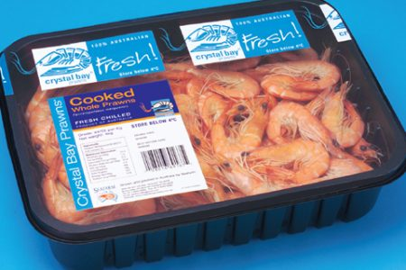 Seafood packing system