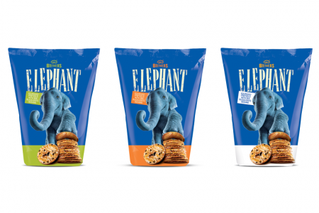 Snack offering expands with elephant pretzels