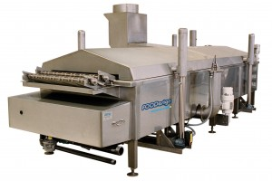 Direct fired fryer
