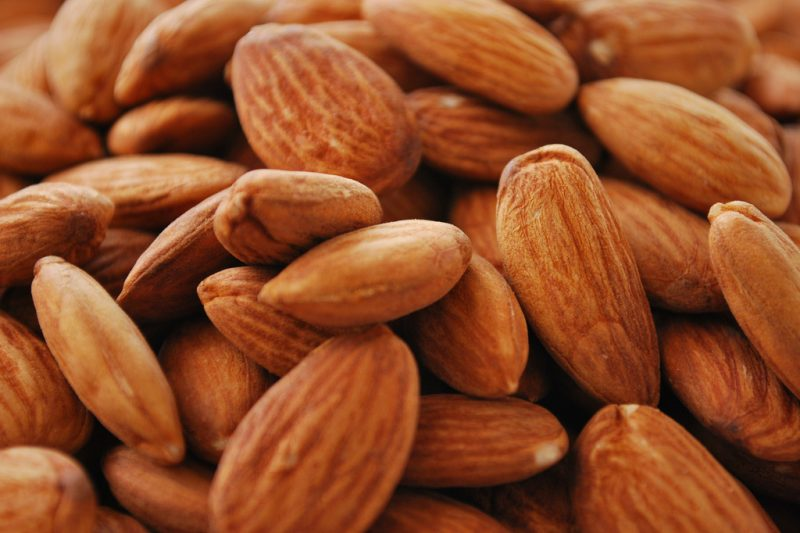 Almonds are number one nut in Europe