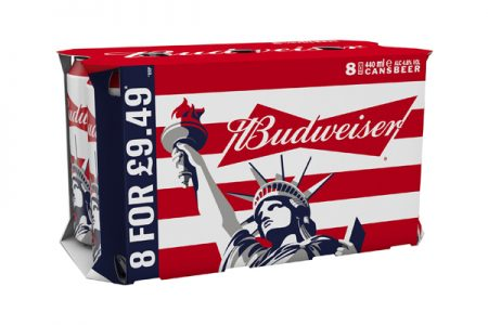 Budweiser launches Liberty Can for the summer