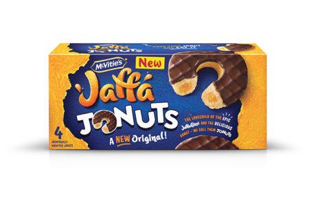pladis creates Jaffa cakes and doughnuts hybrid