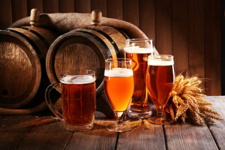 Hand crafted beer flavours