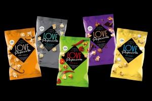 Low calorie popcorn range