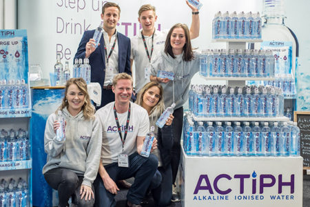 Exports soar for UK alkaline water brand ACTIPH