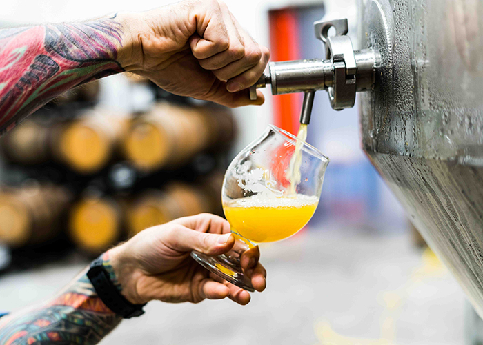 AEBlaunches into the UK craft brewing market
