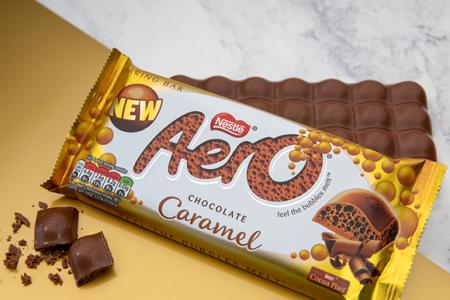 Aero launches new Aero Caramel