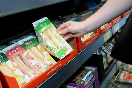 Aldi to trial fully recyclable sandwich packaging