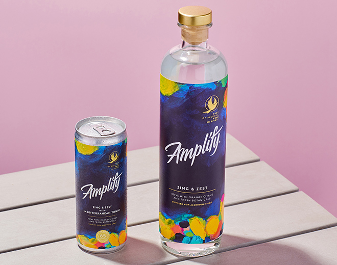 Amplify offers 'in-between' drink with non-alcoholic option