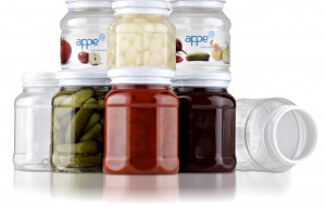 PET jar for hot fill and pasteurisation