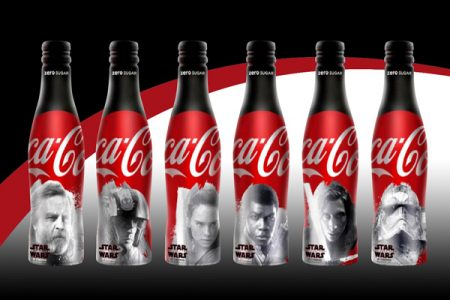 Coca-Cola teams up with Ardagh for Star Wars bottles