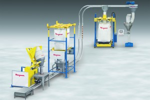 Flexicon offers FLEXI-DISC line of Tubular Cable Conveyors for fragile materials