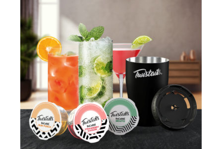 Bacardi launches new cocktail pods for at-home drinking