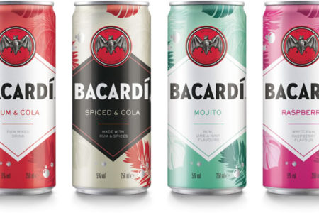 Bacardi relaunches ready-to-drink cocktail cans
