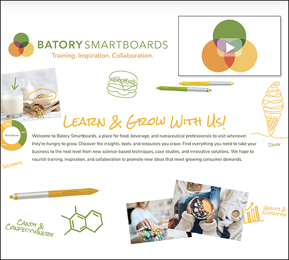 Batory Foods launches microsite for industry insight, trends analysis, training & collaboration