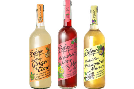 Belvoir Fruit Farms unveils three new drinks