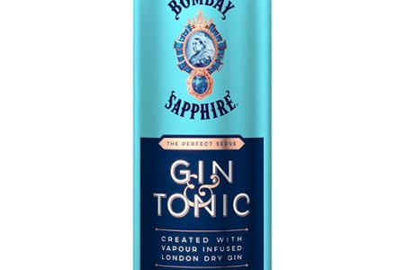 Bombay Sapphire launches ready-to-drink G&T