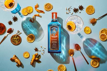 Bombay Sapphire creates new Sunset gin