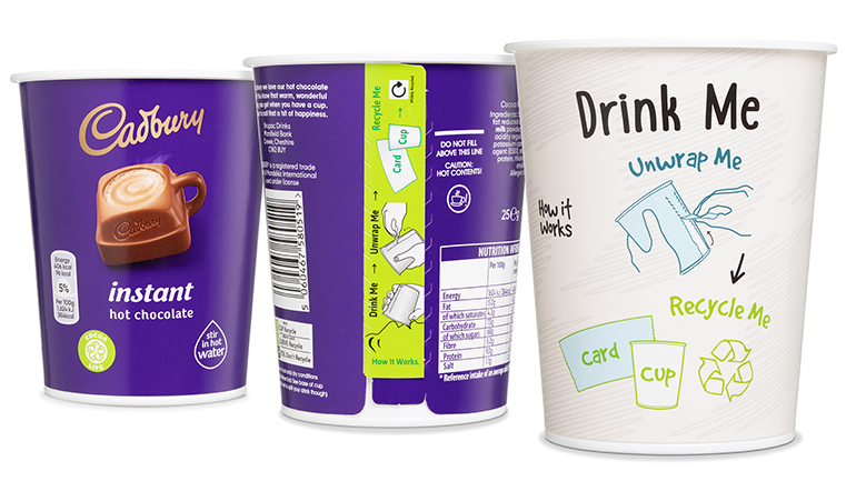 Brupac chooses Greiner Packaging for disposable yet recyclable drinks cups