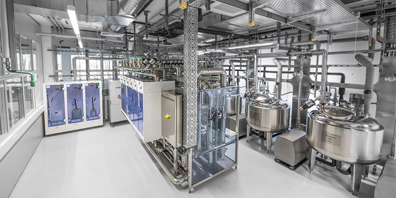 Bürkert Fluid Control Systems invests in testing facility for hygienic processing