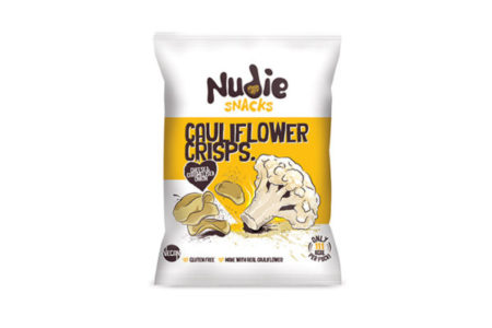 Nudie Snacks claims first to market with crisps made from 'wonky veg'