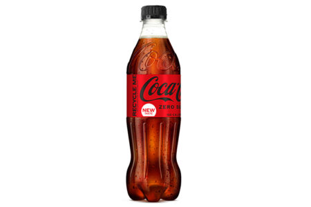 Coca-Cola ends use of non-recycled plastic in all on-the-go bottles sold in UK