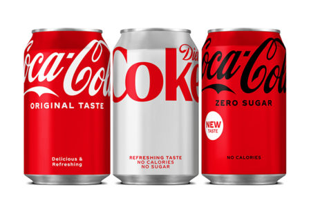 Coca-Cola unveils new refreshed look