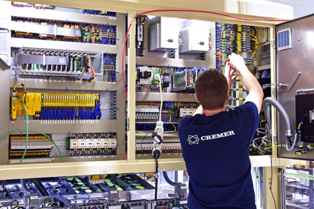 Cremer streamlines after-sales service
