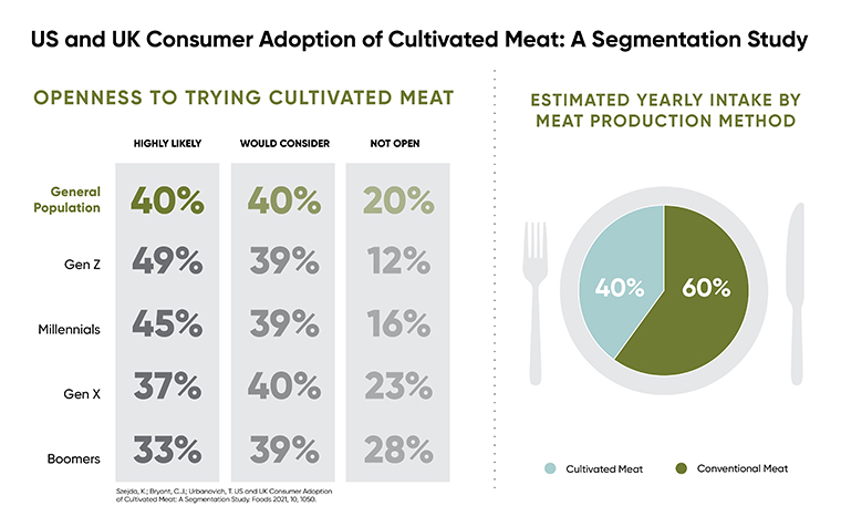 Cultivated meat likely to make up 40% of future meat intake, shows study