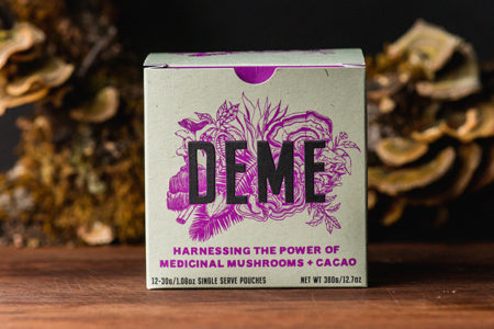 DEME introduces sustainable, transparent offering to medicinal mushroom beverage industry