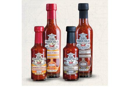 Dr Trouble African sauces launch in the UK
