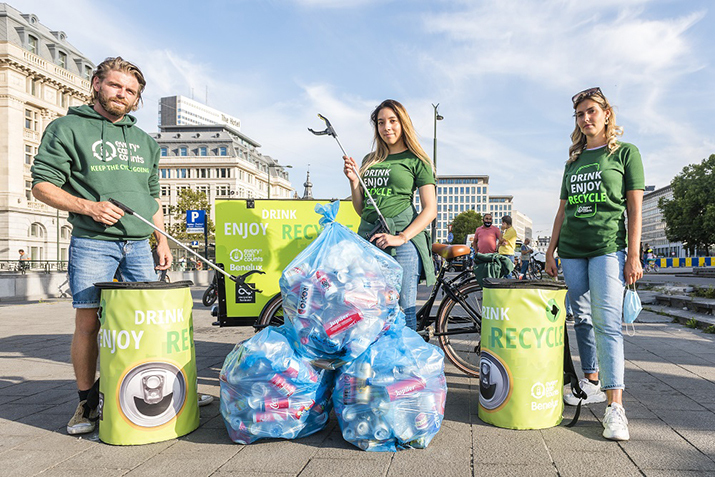 Europeans want more recycling bins in public spaces, poll shows