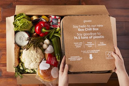 Softbox creates 100% recyclable insulated shipper for Gousto food deliveries