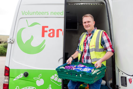 Supplements brand joins with FareShare to redistribute nutritious food to vulnerable people