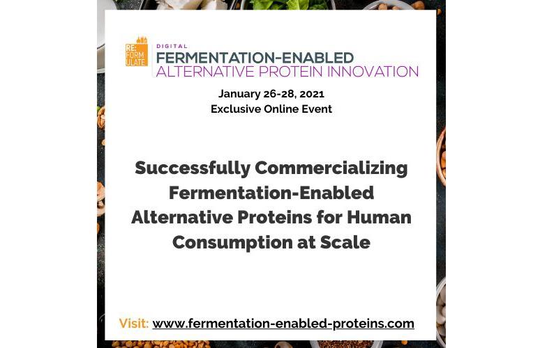 REFORMULATE: Fermentation-Enabled Alternative Protein Innovation Digital Summit