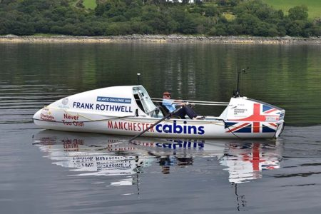 Seventy-year-old gets ready to row the Atlantic on freeze dried food