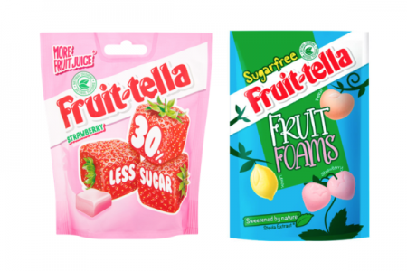 Sugar free and reduced sugar Fruittella arrive