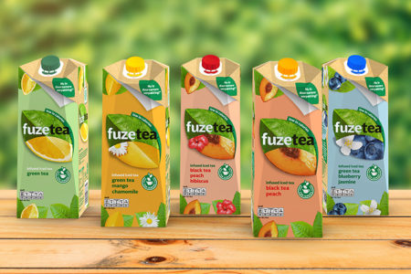 First iced tea brand filled in SIGNATURE packaging solution from SIG