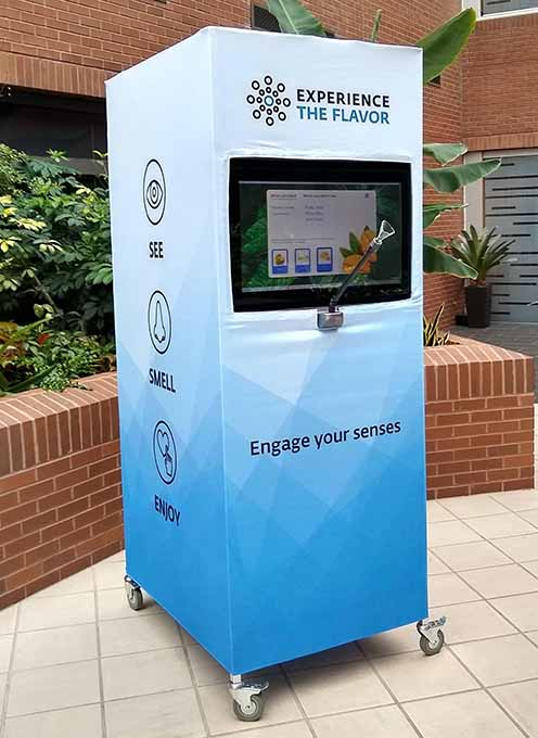 Givaudan introduces its Aroma Kiosk