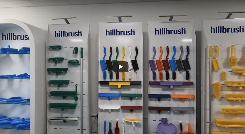 Hygienic cleaning innovation from Hillbrush