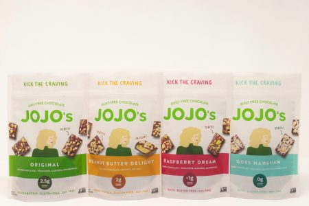 Jojo's Chocolate announces new products and full re-brand