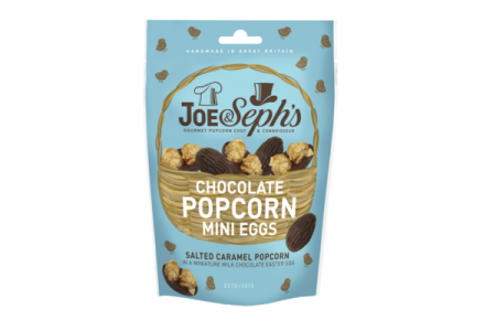 Joe & Seph's launches indulgent popcorn mini eggs for Easter