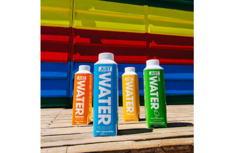 JUST announces range of new infused waters