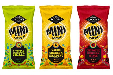 pladis launches new Jacob's Mini Cheddars Mexican range
