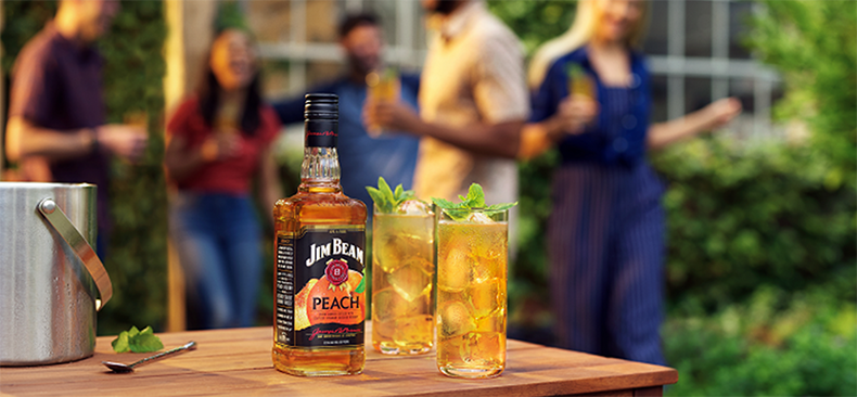 Jim Beam Peach now available in the UK